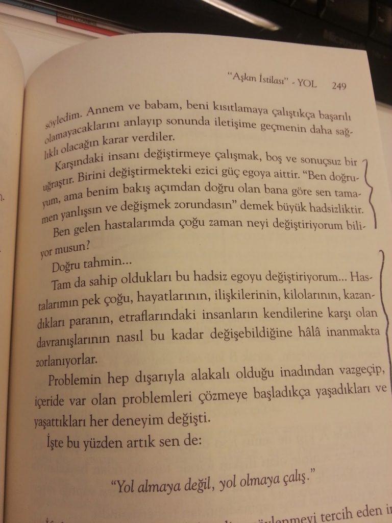 Metin Hara, Aşkın İstilası Yol
