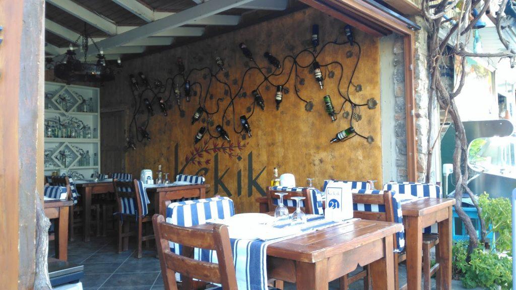 Kumluk plajında Kekik Restoran